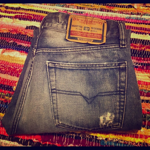 79978c18 Diesel Jeans | Industry Button Fly Straight Leg | Poshmark